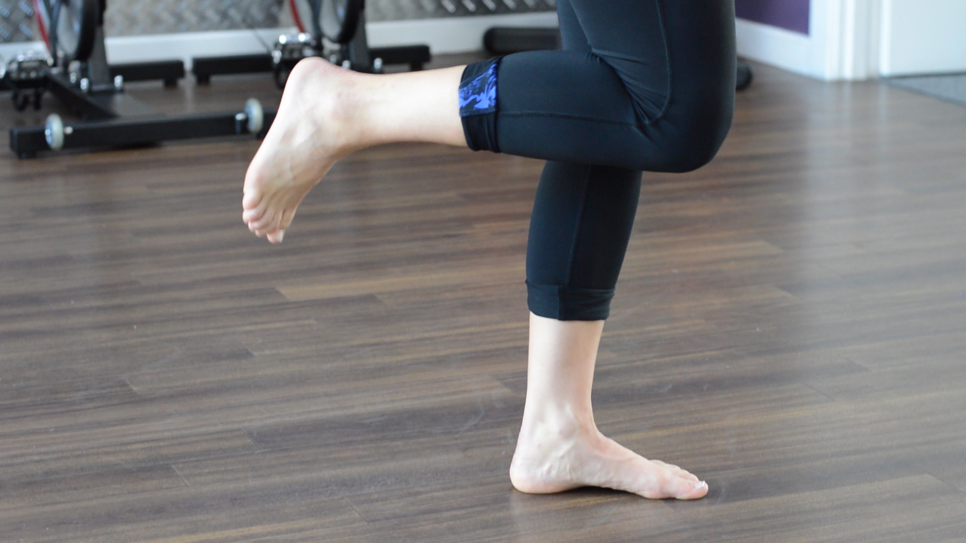 Ankle stability exercise