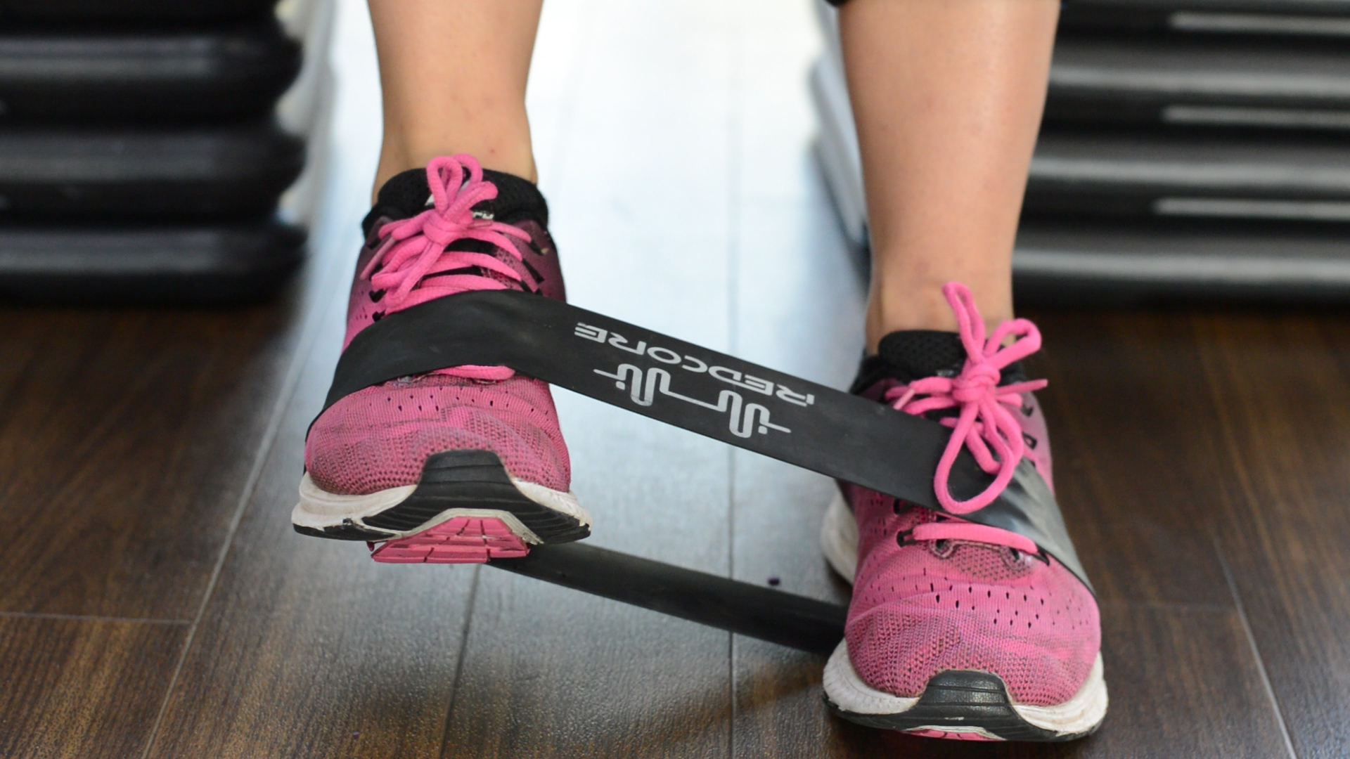 Ankle eversion strengthening technique