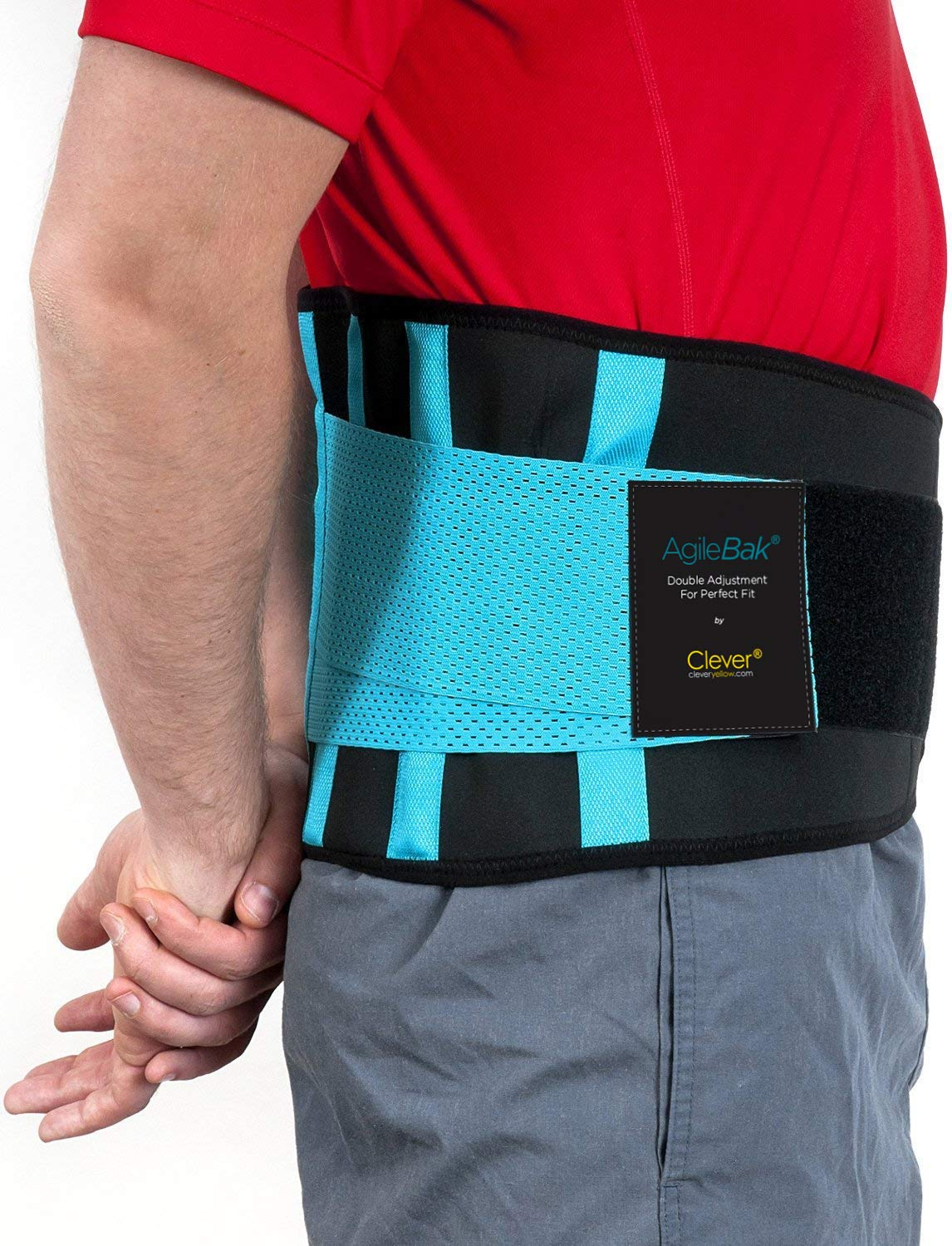 lower back belt support side