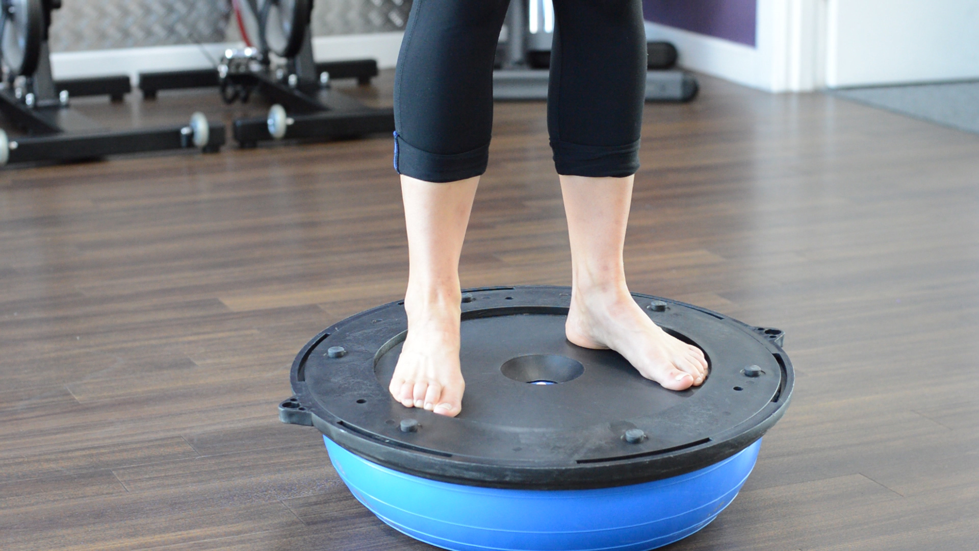 ankle stability exerises on wobble board