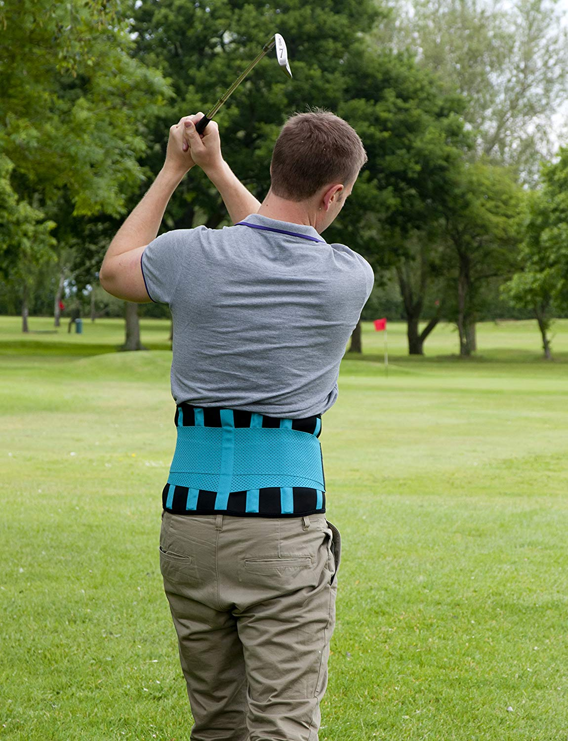 lower back belt support golf