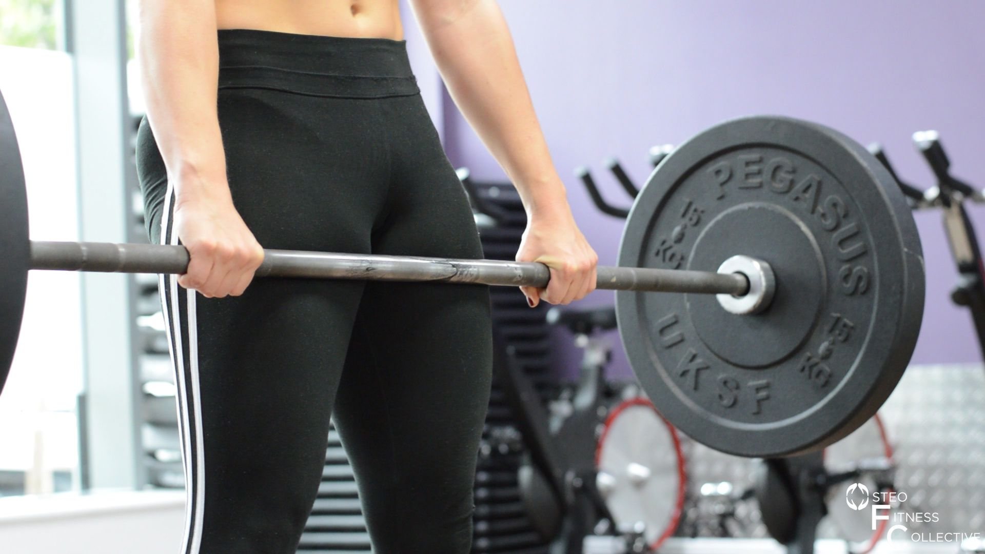 how to deadlift, hips forwards, glutes clenched