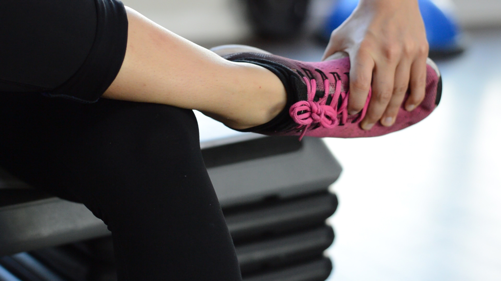 ankle exercise stretch